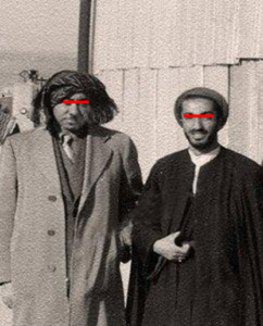 سيد قطب يلتقي نواب صفوي في مصر عام 1954